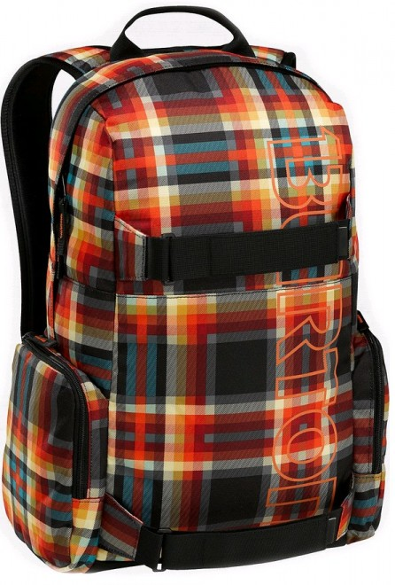 Burton EMPHASIS batoh - MAJESTIC BLACK PLAID
